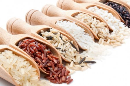 Types and varieties of rice