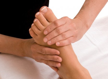 flatfoot Treatment of folk remedies
