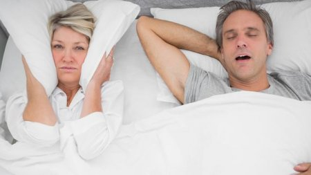 Natural means for getting rid of snoring