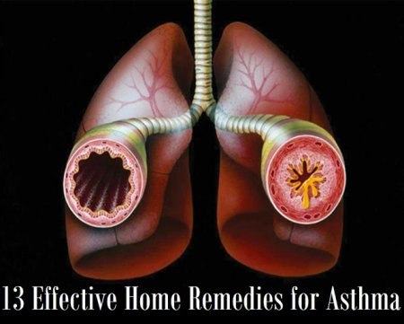 13 EFFECTIVE HOME REMEDIES FOR ASTHMA