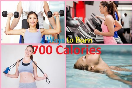 Four Different Ways To Burn 700 Calories