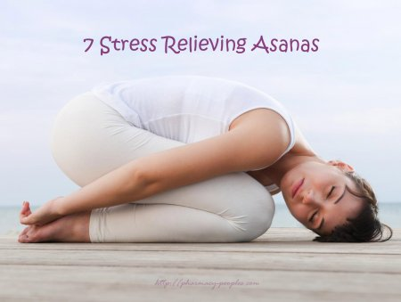 7 Stress Relieving Asanas