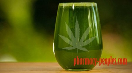 Health  Benefits of Juicing Raw Marijuana